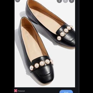 Topshop loafers shoes. Black size 9